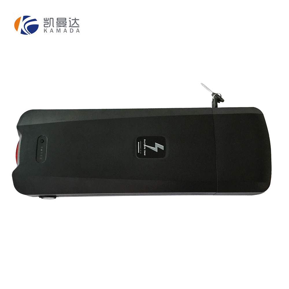 Rear rack battery